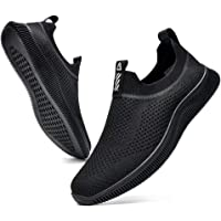 MrToNo Mens Slip On Trainers Breathable Mesh Gym Sports Running Shoes Lightweight Sneakers Walking Shoes Casual Athletic…