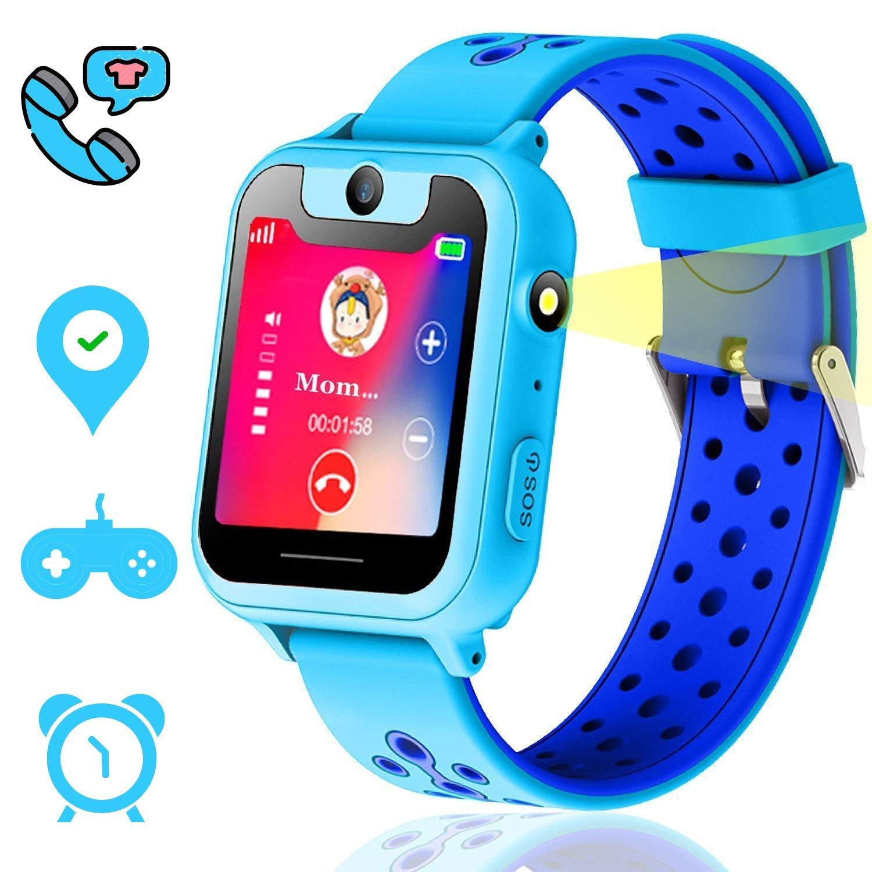 garantía de alta calidad código promocional desigual en el rendimiento Vannico Reloj GPS Niño, Niños GPS Smartwatch, 1.44