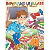 Impariamo le sillabe: schede con giochi e disegni per bambini di prima elementare