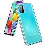 UNBREAKcable Hybrid Kompatibel mit Samsung Galaxy A51 Hülle - Crystal Clear [Anti-Gelb & Kratzfest] Handyhülle Samsung A51, H