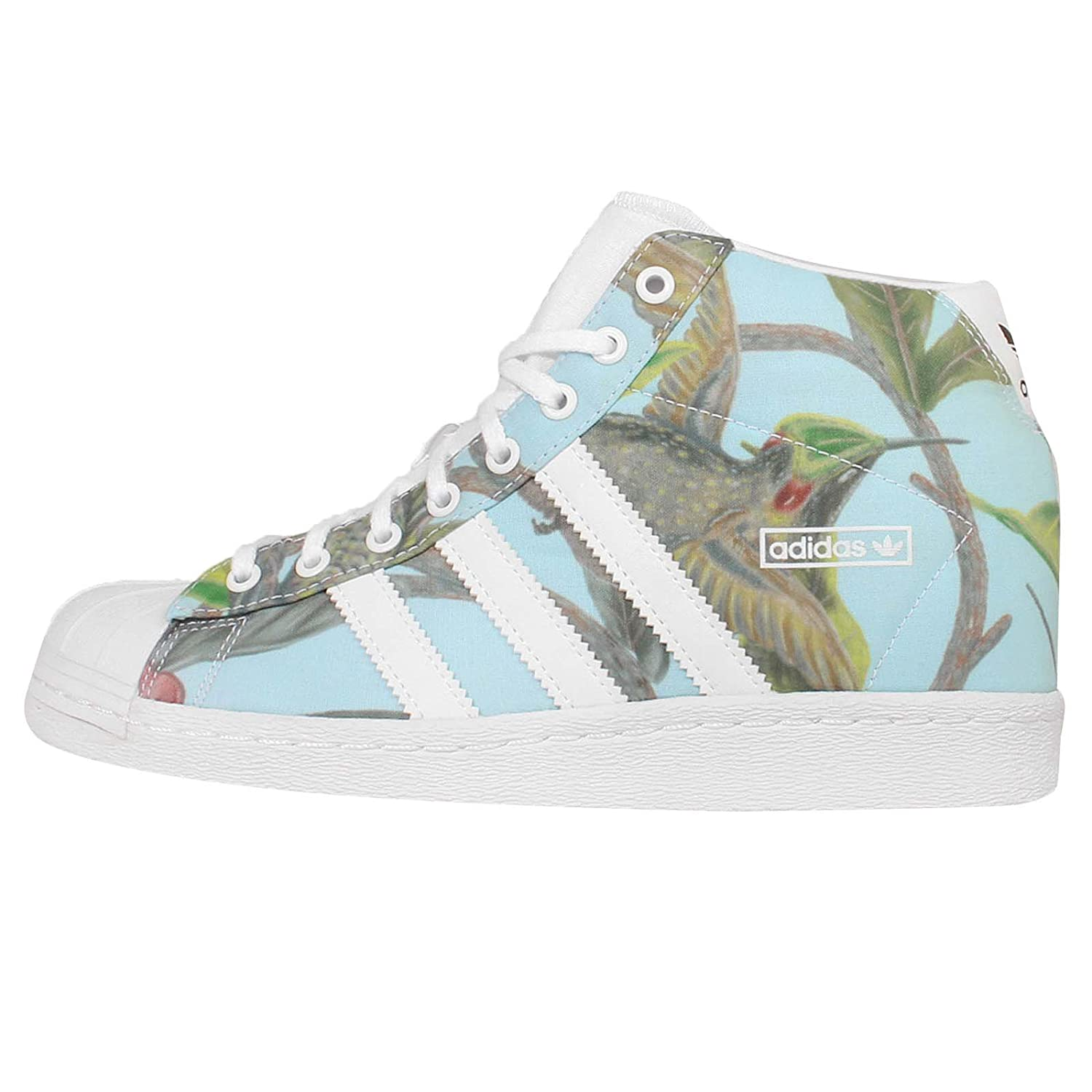 adidas Originals Women\u0027s Superstar Up W White and Black Leather Sneakers -  7 UK: Buy Online at Low Prices in India - Amazon.in