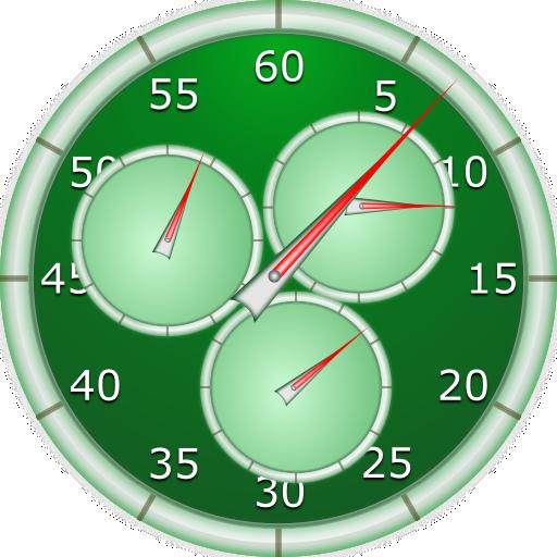 Analog Interval Stopwatch Pro (Wecker Coach)