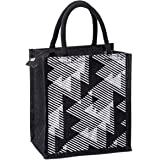 H&B Jute Tiffin bag – lunch bag for office, lunch bags for women, lunch bags for men, Jute bag for lunch, lunch box bags – ZI