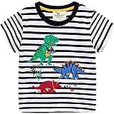 Camiseta Niño Bebé Manga Corta Verano Algodón Blusa 2-7 Años
