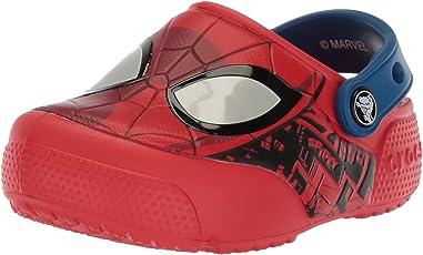 crocs Boy's FL Spiderman Lght K Clogs