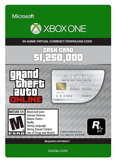 Grand Theft Auto Online - CashCard 500,000 GTA-Dollar 'Bullenhai ...