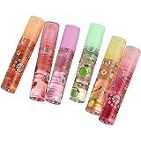 3 Pcs Fruity Roll on Lip Gloss, Rouge à Lèvres Baume Incolore, Repulpeur Hydratant pour les Lèvres, Rouge à Lèvres Liquide No
