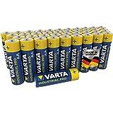 VARTA Industri batteri AA (LR6) är ett alkaliskt batteri i 40-pack, Made in Germany, miljövänlig förpackning
