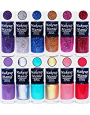 Makeup Mania Nail Polish Set, Multi-Color (Combo Of 12)