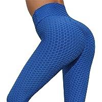 Yuson Girl Pantaloni da Yoga Donna Fitness Leggins Sportivi da Donna Vita Alta Palestra Allenamento Push up Le natiche…