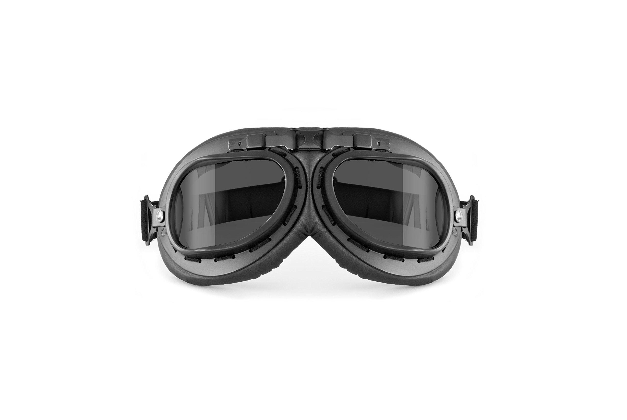 Masque moto aviateur Bertoni AF195 2