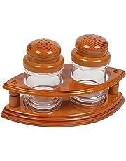 Sukhson India Plastic Salt and Pepper Dispenser, Medium(Multicolour)
