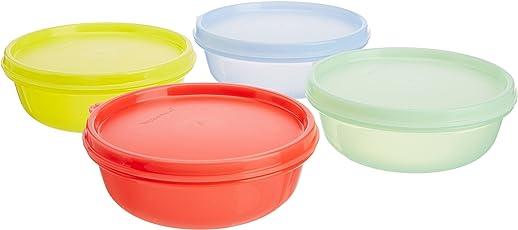 Tupperware Buddy Bowl Set, 300ml, Set of 4,Assorted