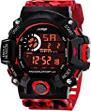 Swadesi Stuff Multi Color Army Kids Digital Watch for Boys
