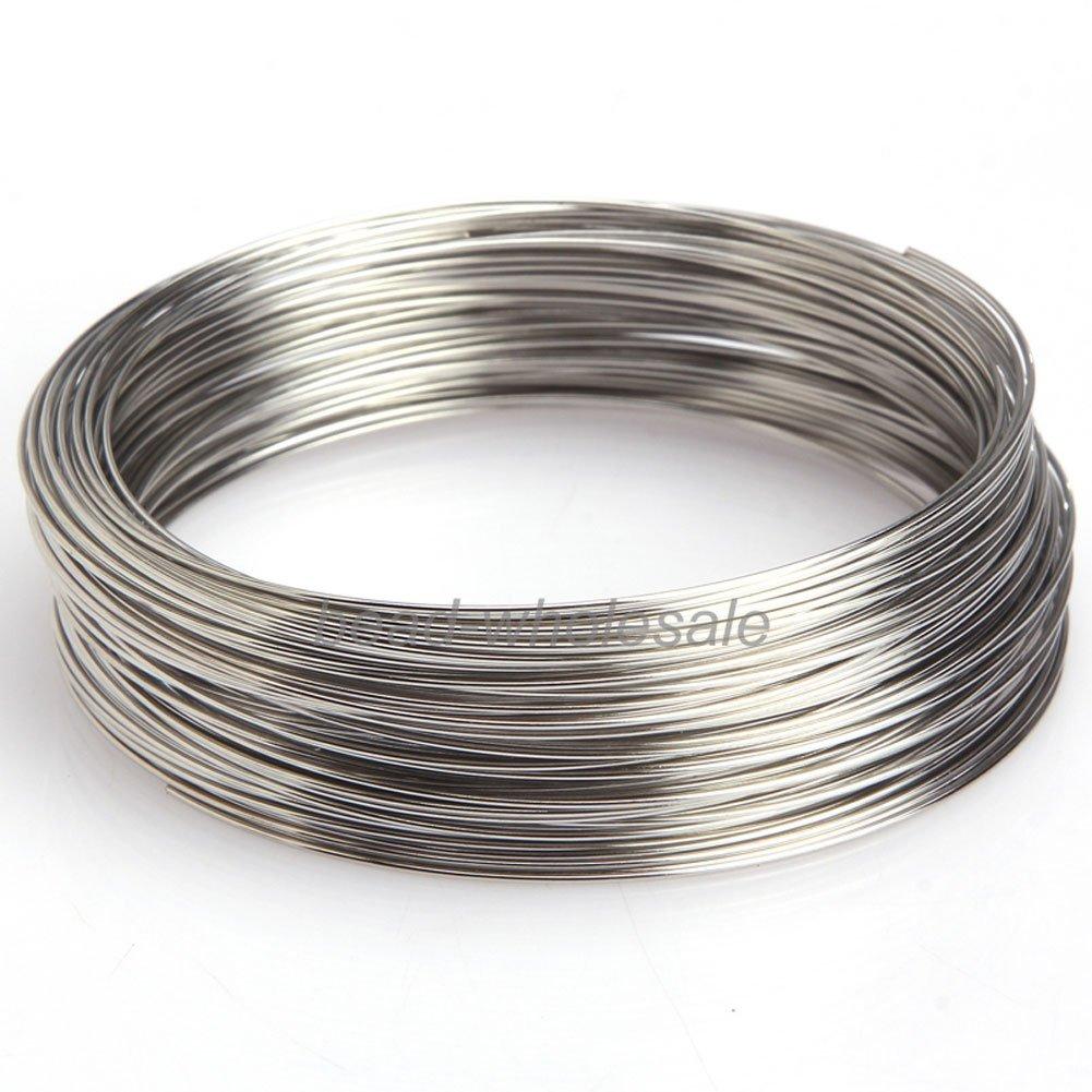 ILOVEDIY 100 Windungen Speicher Draht Memory Wire Spiraldraht ...