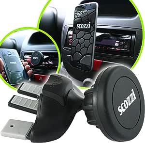 Scozzi Handyhalterung Auto Cd Schlitz Magnet Einschub Elektronik