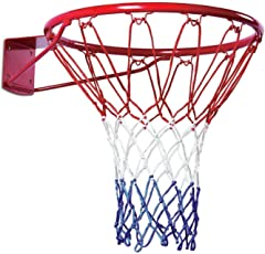 "HENCO Alley 15"" Basketball Ring(1RING+1NET+4FASTNERS)"