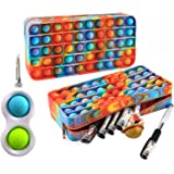 Remy10 Trousse Pop it a Crayons/stylos , Popit Jeux Pas Cher, Fidget Toys Pack ,🤩+ 1 Poppit, Fidget Toys Offert🤩 ,Fidget To
