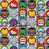 "Springs Creative Nähstoff ""Marvel Kawaii-Charakter"","