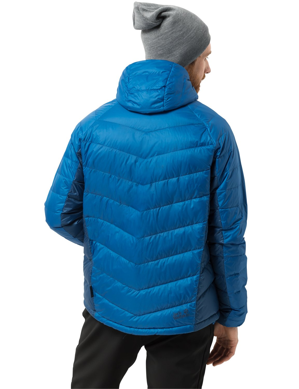 71OSAEp7ShL - Jack Wolfskin Men's Neon Daunenjacke Winddicht Wasserabweisend Atmungsaktiv Down Jacket