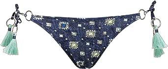 Watercult - Slip bikini da donna in denim CUES