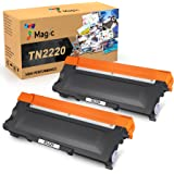 7Magic TN2220 TN2010 Toner, Sostituzione Cartuccia Toner Compatibile per Brother MFC-7360N MFC-7460DN DCP-7055 DCP-7060D DCP-