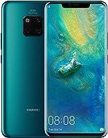 هاتف هاواوي ميت 20 برو بشريحتي اتصال - سعة 128 جيجابايت، الجيل الرابع ال تي اي، اخضر