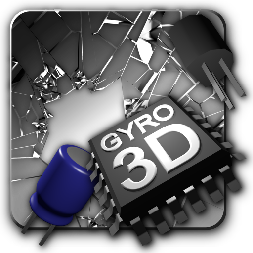 Cracked Screen 3D in Parallax HD