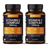 Boldfit Vitamin C Complex 1000mg tablets with Amla & Zinc (120 Tablets)