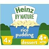 Heinz Creamy Rice Pudding Dessert Pot, 4 x 100 g (Pack of 3)