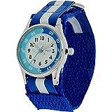 Reflex Unisex Datum klassisch Quarz Uhr mit Stoff Armband REFK0001