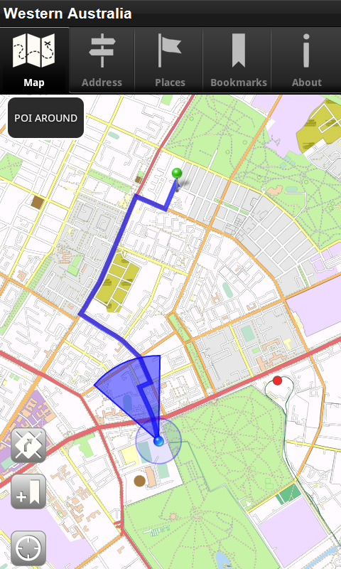 Android gps Hookup