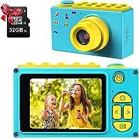 ShinePick Appareil Photo Numérique Enfants,Mini Caméra avec Carte TF / Zoom numérique 4X / 8MP / Écran LCD TFT de 2…