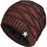 Hombres Cozy Invierno Gorra de Punto tartán Beanie Universal Cálido de Punto de esquí Beanie Hat cráneo Slouchy Gorra Sombrer