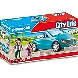 PLAYMOBIL 70285 City Life Pappa och barn med Cabrio, färgglada