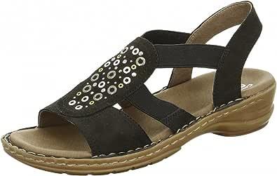 signore ara sandalo 12-37246-01 nero