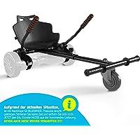 Bluewheel Sitzscooter HK200 Kart Sitz Erweiterung für 6, 5-10 Zoll Self Balance Scooter, Hover, E-Kart, Kart ,Elektro Go…