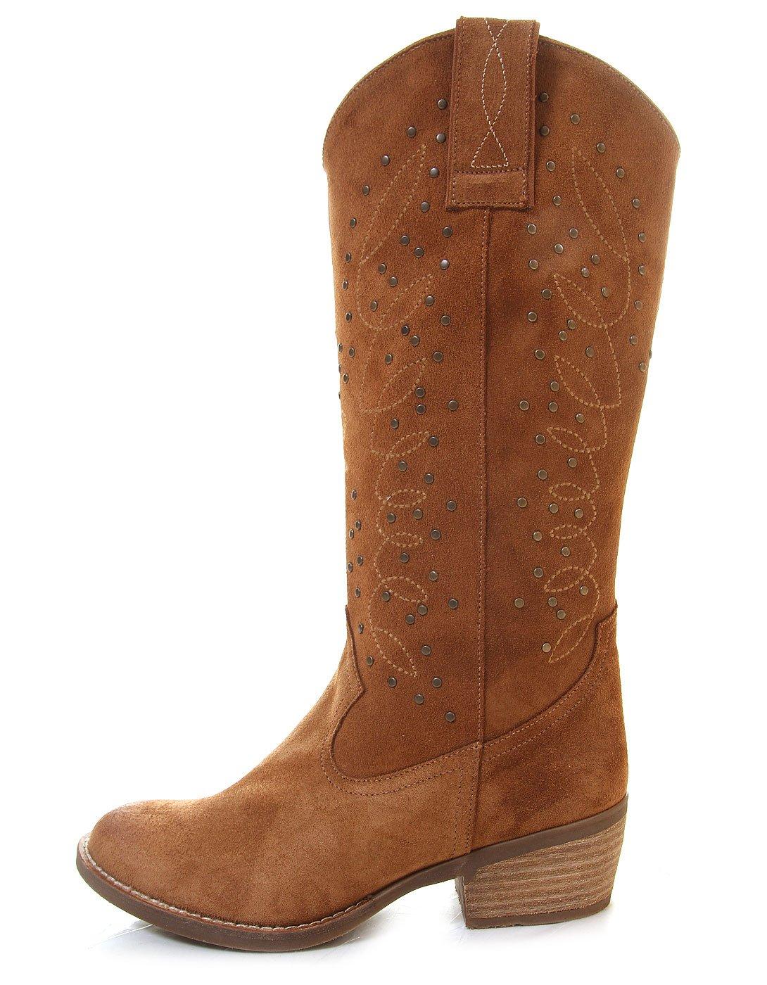 4f2c3410638 ▷ Ofertas Buylevard Botas Camperas tachuelas Cowboy Ante