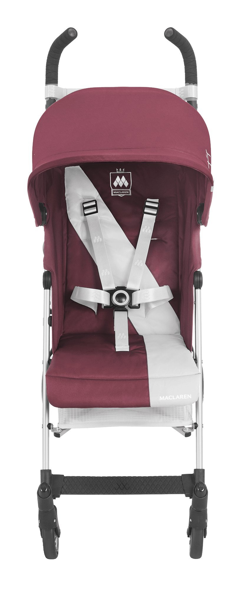 Maclaren Triumph Stroller - lightweight, compact Maclaren Basic weight of 5kg/ 11lb; ideal for children 6 months and up to 25kg/55lb Maclaren is the only brand to offer a sovereign lifetime warranty Extendable upf 50+ sun canopy and built-in sun visor 5