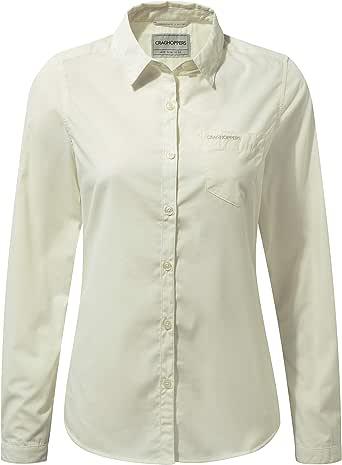 Craghoppers Damen Kiwi Long Sleeved Hemd