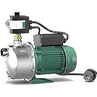 Wilo-Jet FWJ 203 Gartenpumpe, selbstansaugender Hauswasserautomat/Hauswasserwerk zur Wasserversorgung aus Brunnen…