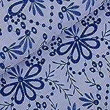 Zauberhafter Hemdenstoff Bohemian Blu von Milliblu´s mit