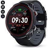 GOKOO Smartwatch Hombres Mujeres Reloj Inteligente Deportivo 9 Modos Deportivos IP67 Impermeable Compatible con Sistemas iOS