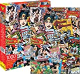 Aquarius DC Comics- Vintage Wonder Woman Comic Book Image Collage 1000 pcJigsaw