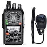 Wouxun UVd1P - Radio de doble banda (4m/2m 66-88/136-174MHz), portátil, con micrófono altavoz remoto