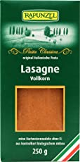 Rapunzel Lasagne-Platten Vollkorn, 4er Pack (4 x 250 g) - Bio