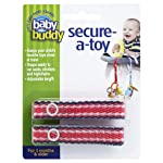 Baby Buddy 2 Piece Secure-A-Toy Multi 01150-NRS