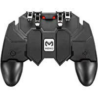 CQLEK® AK66 Pubg Trigger Controller, Mobile Gamepad - 2in1-6 Fingers Pubg Game Assistant with Highly Sensitive Triggers…