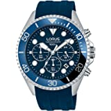 Lorus Casual Watch For Men - Round, Rubber, RT325GX9