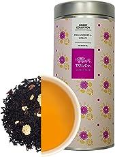 TGL Co. Luxury Teas Strawberries and Cream Black Leaf Tea, (50 GMS | Makes 25 Cups) Country of Origin Sri Lanka